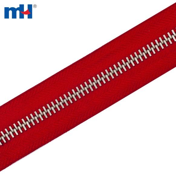 #10 heavy duty metal zipper chain