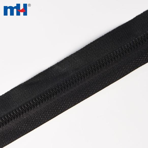 #5 thin teeth plastic zipper