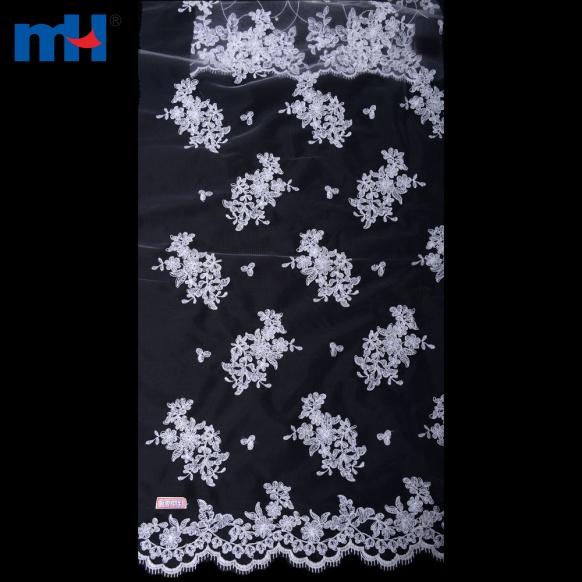 Organza Lace Fabric 0619-0116