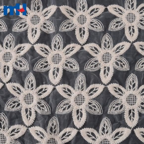 ʻO Organza Lace Fabric 0619-0259