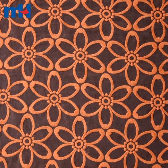 Organza Lace Fabric W002160