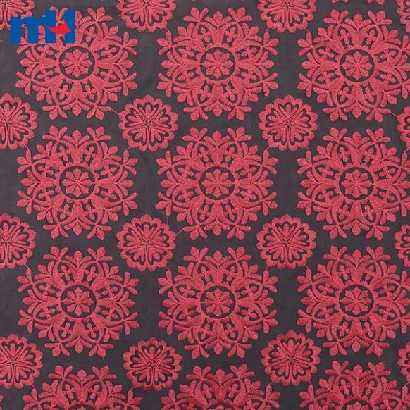 ʻO Organza Lace Fabric W003771