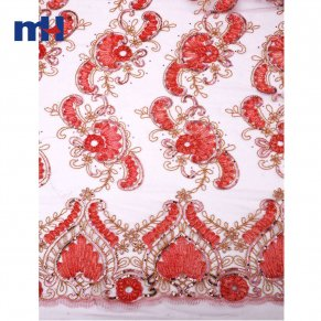 Sequins Lace Fabric 0610-0013