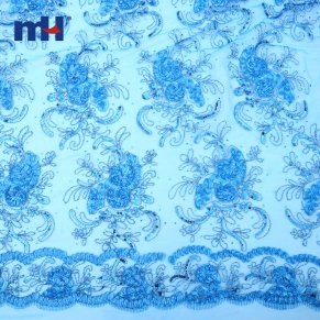 Sequins Lace Fabric 0610-0016