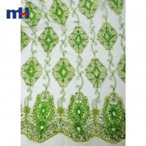 Sequins Lace Fabric 0610-0017