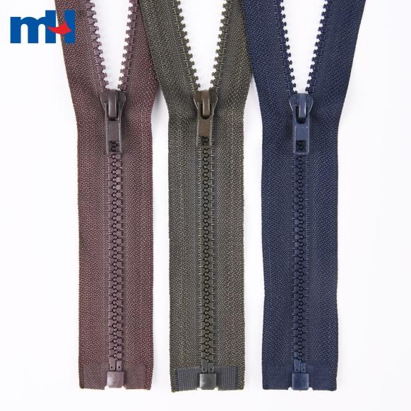 0231-24 #5 plastic zipper for jackets