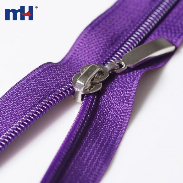 two way separating zippers