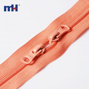 two way zippers for bag