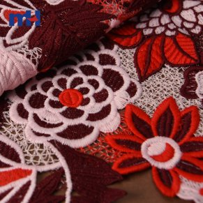 Chemical Lace Fabric S008619