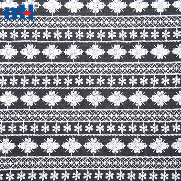 Organza Lace Fabric LD1004-1W