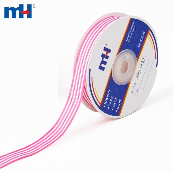 0104-0053-1 striped grosgrain ribbon
