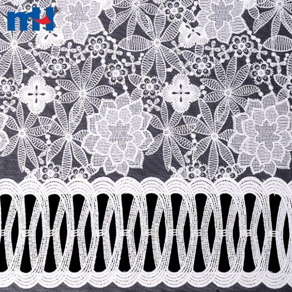 ʻO Organza Lace Fabric S008852