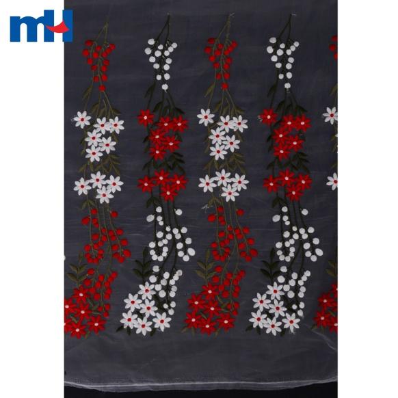 Organza Lace Fabric 1K4504-30
