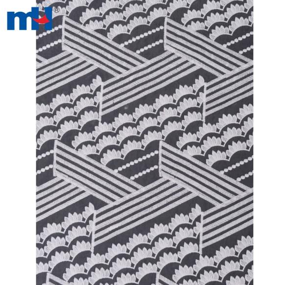 Organza Lace Fabric M004913