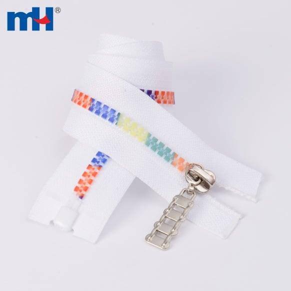 0231-4232 многоцветная зубная пластиковая молния