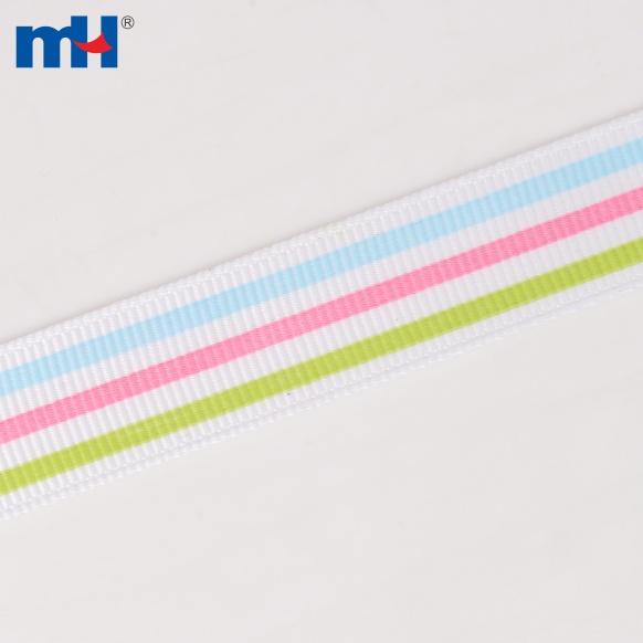 0104-0052-1 striped grosgrain ribbon