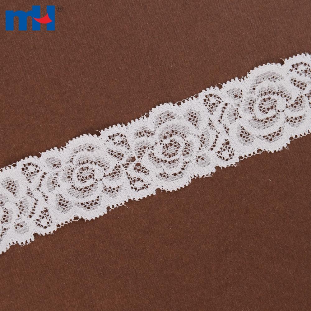 Elastic Nylon Tricot Lace For Garment