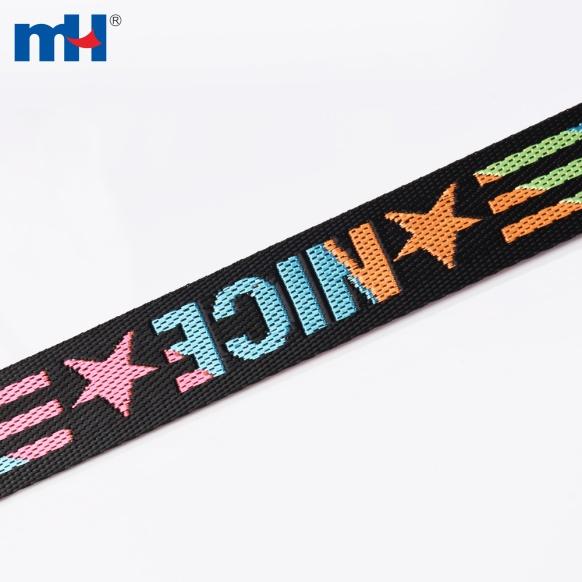 colorful polyester webbing bag strap