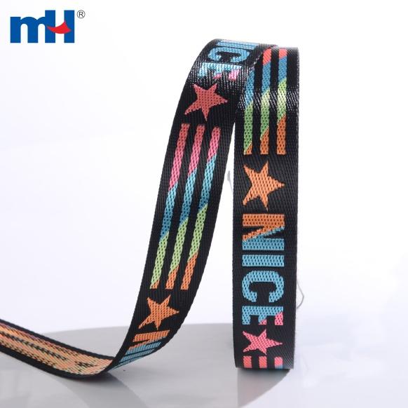 colorful jacquard webbing strap