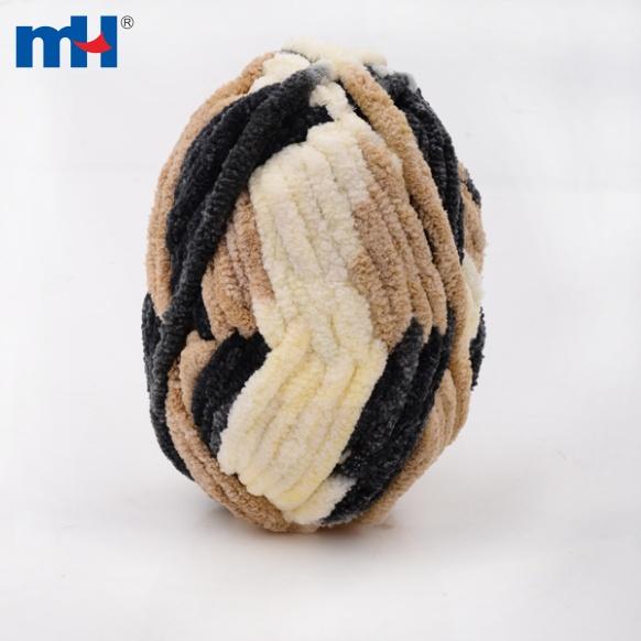 Chenille Hand Knitting Yarn